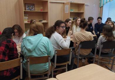 В школе состоялся просмотр и обсуждение фильма о Холокосте