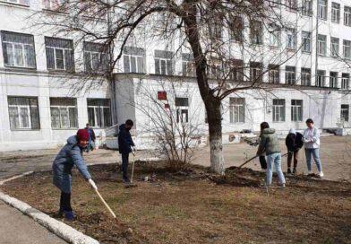 Гагаринский субботник