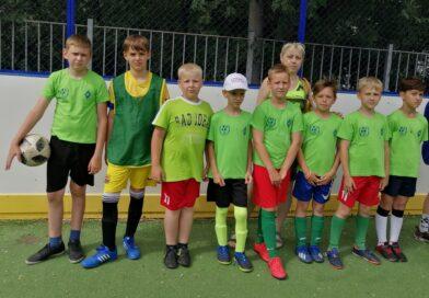 Районный этап турнира по футболу среди дворовых команд «Летосфутбольныммячом»